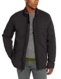 prAna Men\'s Ogden Jacket, Charcoal, Large