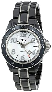 Lucien Piccard Women's LPITALY-27107BK-WH Celano Analog Display Swiss Quartz Two Tone Watch