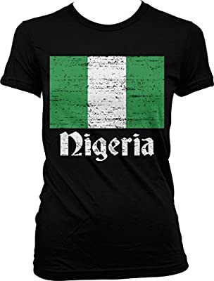 Flag of Nigeria, Nigerian Flag Juniors T-shirt, NOFO Clothing Co.