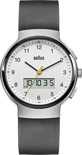 Braun BN0159WHBKG - Reloj de pulsera hombre, caucho, color negro