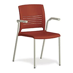 Ki Furniture Flexible Back Stack Chair With