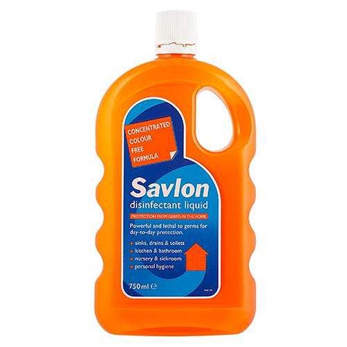 Savlon Disinfectant Liquid Orange Bottle 750ml