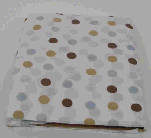 Beansprout Mod Star Crib Sheet, Blue (Discontinued by Manufacturer)