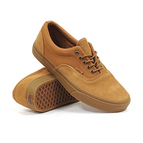 9aad2fd23d0d35 Vans Era (Suede Buck Tobacco Brown) Men s Skate Shoes by Vans at the ...
