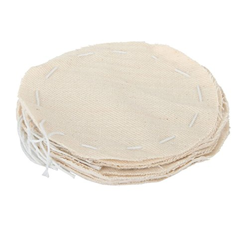 10Pcs 105Mm Syphon Replacement Cloth Coffee Vacuum Filter Mesh Net Strainer