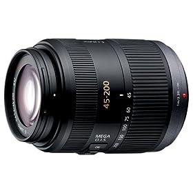 Panasonic デジタルカメラオプション デジタル一眼カメラ用交換レンズ H-FS045200