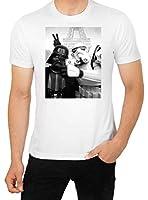 Star Wars SELFIE T Shirt Funny Parody Darth Vader vs Stormtrooper top Men's High Quality T Shirt