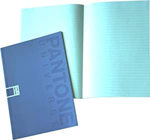 Pantone Ruled Note Book, A5, 24 Sheets, Daybreak, Pack of 5 (50197-88979-5)
