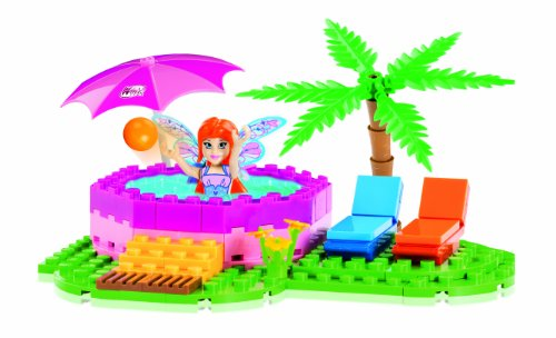 Winx club magic piscine 80 briques de construction par cobi for Construction piscine 80