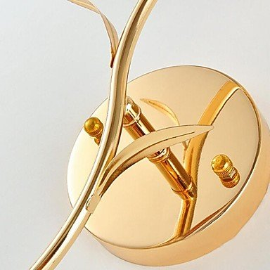 modernes appliques en cristal k9 d'or