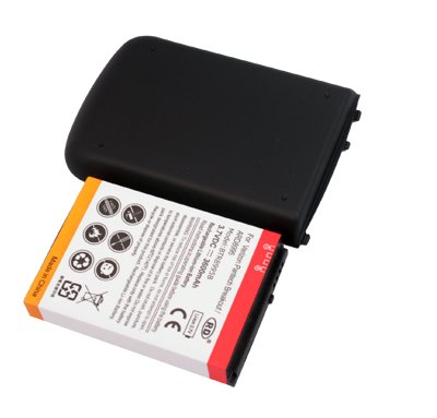 3600mAh Extended Battery + Cover BTR8995B for Verizon Pantech Breakout ARD8995