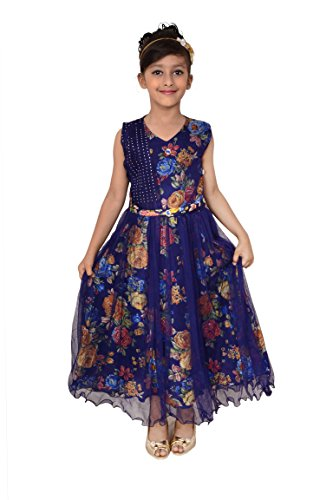 Arshia Fashions girls party dresses – sleeveless – Party wear – Long