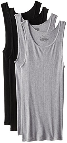 hanes-comfortsoft-dyed-tank-4-pack-black-grey-large