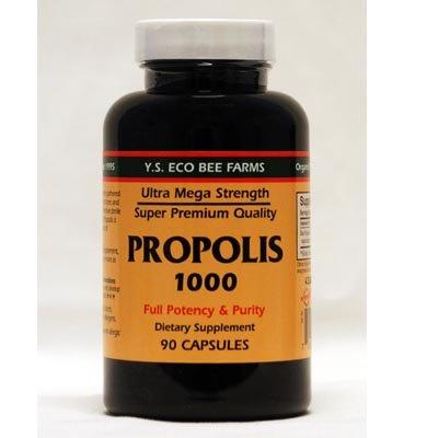 YS Royal Jelly/Honey Bee - Propolis Ultra Mega Strength, 100