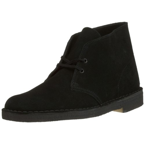 Clarks Originals Desert Boot, Men's Lace-Up Boots  - Black, 43 EU