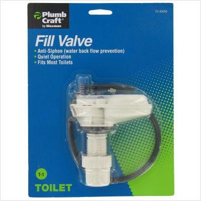 Waxman 7030050 Water Saver Anit Siphon Fill Valve