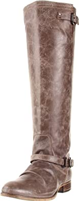 Steve Madden Women's Rovvee Knee-High Boot,Stone Leather,6 M US