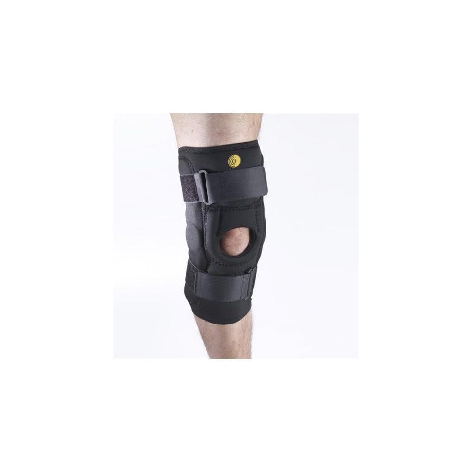 99f1b0da96 Corflex CoolTex Hinged Patella Baja Stabilizing Brace 3XL Open Popliteal  Black