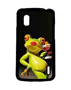 Mobifry Back case cover for LG Google Nexus 4 E960 Mobile ( Printed design)