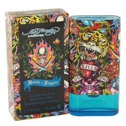 Ed Hardy Hearts & Daggers Cologne For Men 1.7 Oz Eau De Toilette Spray