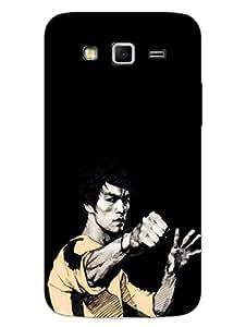 Samsung Grand 2 Back Cover - Bruce Lee - Designer Printed Hard Shell Case