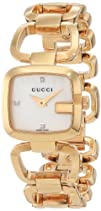 Gucci Womens YA125513 G-Gucci White Mother of Pearl Dial
