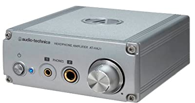 audio-technica headphone amplifier (φ6.3 stereo standard /φ3.5 stereo mini jack support both) AT-HA21 (Japan domestic product)