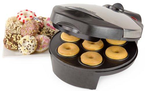 Andrew James - Appareil À Donuts De 7 Trous En Argent Classique - 2 Ans Garantie