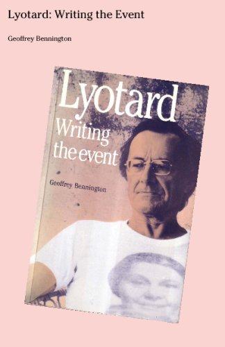 Lyotard: Writing The Event