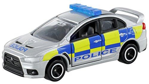 Takara Tomy Tomica #039 Mitsubishi Lancer Evolution X British Police Type - 1