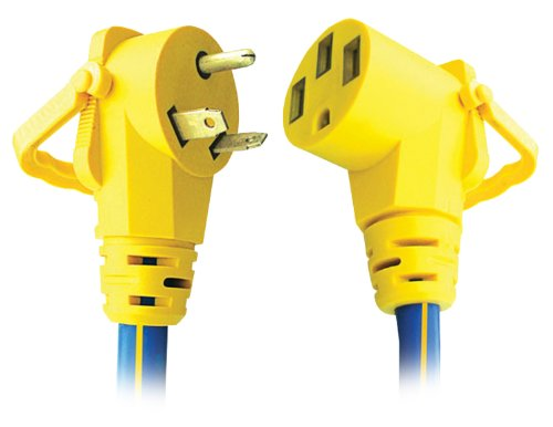 Voltec 16-00509 30 Amp RV Extension Cord with E-Zee Grip, 50-Feet