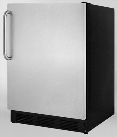 Summit AL652BX ADA Compliant Compact Refrigerator-Freezer with Cycle Defrost, Dual Evaporator,