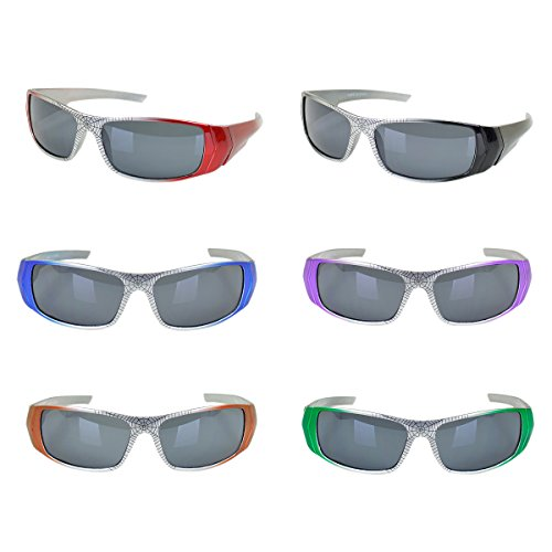Kids Spiderman Style Web Sunglasses Age 3-12 - Different Colors