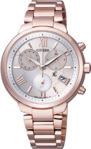 [シチズン]CITIZEN 腕時計 xC クロスシー TITANIAライン Eco-Drive エコ・ドライブ クロノグラフ FB1332-50A レディース