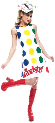 Paper Magic Women's Adult Twister Dress And Hat