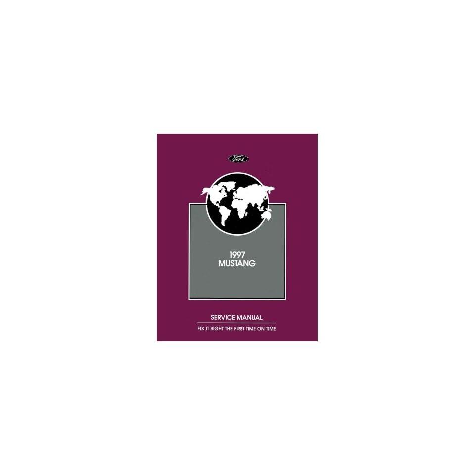 1997 Ford Mustang Shop Service Repair Manual Book Engine Drivetrain Wiring OEM