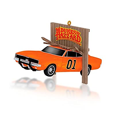 Jumpin' General Lee - The Dukes Of Hazzard - 2014 Hallmark Keepsake Ornament