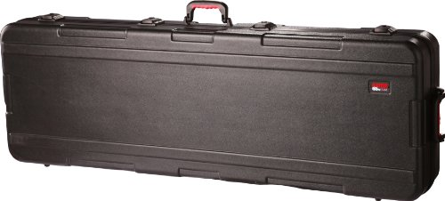 Great Features Of Gator Cases GKPE-88-TSA 88 Note Keyboard Case with wheels TSA Latches