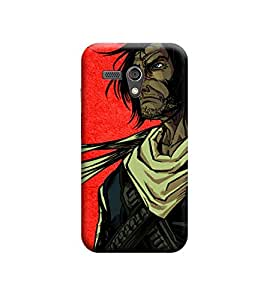 EPICCASE Premium Printed Mobile Back Case Cover With Full protection For Motorola Moto G (Designer Case)
