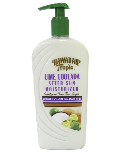 Hawaiian Tropic After Sun Moisturizer, Lime Coolada 16 fl oz (473 ml)