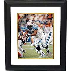 Brad Hopkins Autographed Hand Signed Tennessee Titans 8x10 Photo Custom Framed-... by Hall of Fame Memorabilia