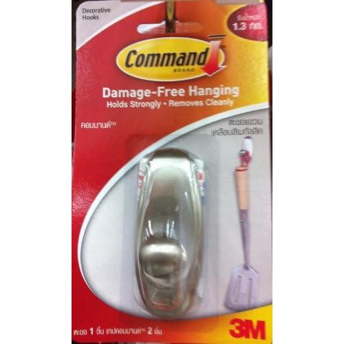 3m Command Band Damage- Free Hanging Decorative Hooks, Maximum Weight