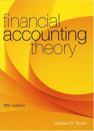 Financial Accounting Theory (5th Edition)