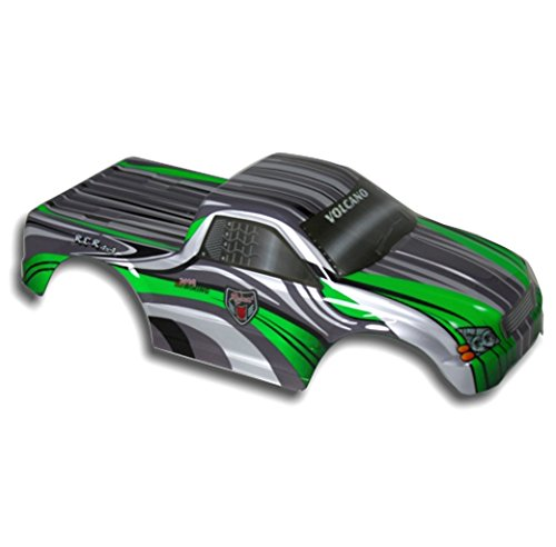 Redcat Racing Truck Body Green and White 1 10 Scale