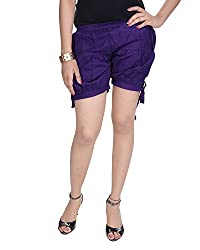 Soundarya Women's Regular Fit Pants (HP7, Purple)