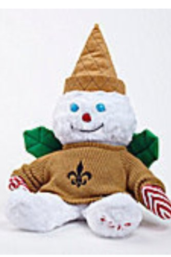 "2012 Mr. Bingle Tall 23"" Plush Fleur De Li (with tag) New Orleans Saints New at Amazon.com"
