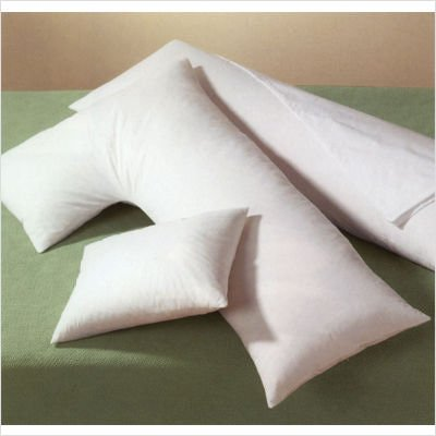 Buy Cheap Body Cuddler 40% White Duck Feather And 40% Snow White Custom L Shaped Pillow Cover