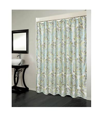 Beatrice Home Fashions Metropolitan Shower Curtain, Multi