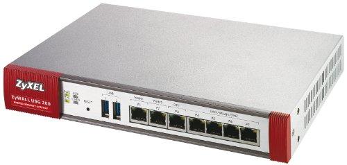 ZyXEL ZyWALL USG-200 - Dispositif de sécurité - Ethernet, Fast Ethernet, Gigabit Ethernet - externe