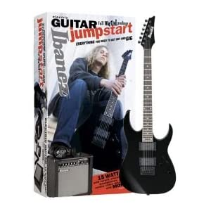 Ibanez IJX121 Jumpstart Electric Guitar Package - Black Night